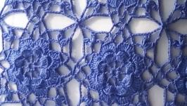 Кружевная наволочка для подушки двухсторонняя