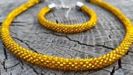 Комплект украшений ′Золотой′