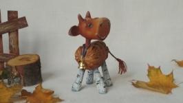 Ёлочная игрушка ′Бычок - смоляной бочок-2′