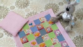 Комплект для кукольной кроватки ′Зайка моя′