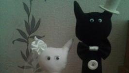 Свадебные котики.