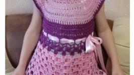 Платье : Розовая дымка