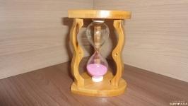 Часы песочные деревянные 5 мин