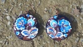 Сині сережки ′нічні квіти′