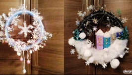 тут изображено Венки Фавн и Новогодняя сказка