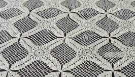 Linen Tablecloth Nappe de lin
