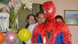 костюм ′человек-паук′