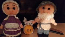 вязаная кукла Бабушка