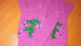 Перчатки ′ Фуксия′