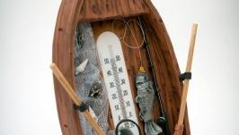 тут изображено Лодка-термометр