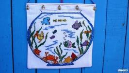 Панно для ванной «Веселый аквариум»