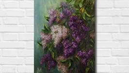Картина маслом ′Весеннее настроение′ 45х30 см, холст на подрамнике, масло