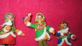 елочные игрушки ручной работы