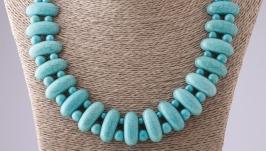 Ожерелье Клеопатра Бирюза