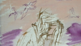 Салфетка-картина