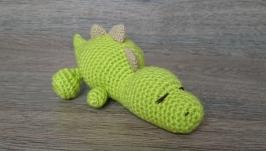Игрушка спящий малыш динозавр