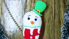 Snowman Mister IceCream