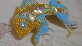 Заколка ′Золотая рыбка′