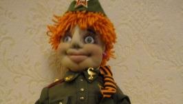 кукла военврач
