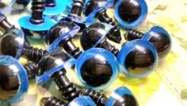 Safety eyes 12 mm Blue