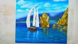 Картина маслом ′Італійський берег′