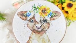 Досточка сырная подарочная ′Солнечная′