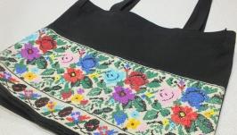 Еко-сумка Вишиті квіти від Richelieu Studio LO