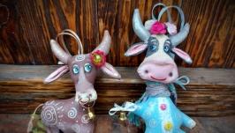 Символ року Бик, Корова, новорічний подарунок