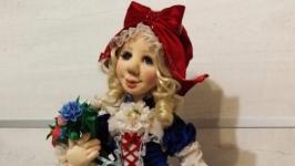 Коллекционная кукла ′Красная шапочка′