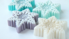 Новогоднее мыло ′Снежинка′