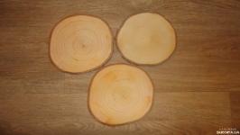 Срез дерева. Спил ольхи 15 - 17 см