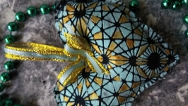 Текстильные елочные украшения