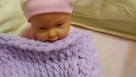 Плюшевый плед для малышей