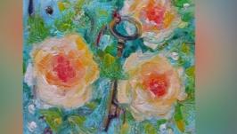 Деревня,лето и бабушкины розы