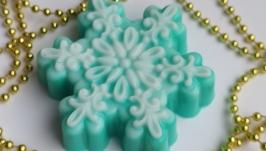 Мыло ручной работы ′Снежинка′