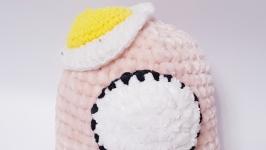Among us toy, амонг ас розовая плюшевая игрушка 22 см.