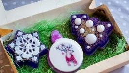 Набор мыла ручной работы ′Новогодний′