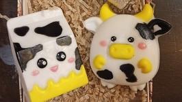 Набор мыла ′Коровка и пакет молока′