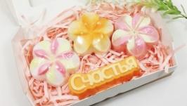 Набор мыла ′Счастья′ с цветочным ароматом