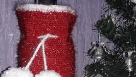 Чехол на бутылку′Санта′