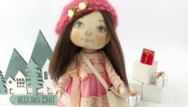 Кукла текстильная. Кукла интерьерная.
