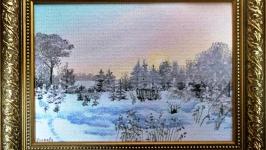 Зимняя миниатюра N 7