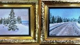 Зимние миниатюры 17,16