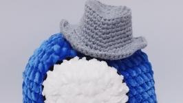 Among us toy, амонг ас синяя плюшевая игрушка 22 см