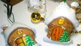 Зимние домики ′Счастье в дом′