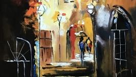 Абстракция, арт «Старый город»