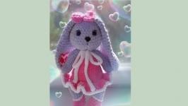 soft toy bunny.