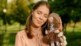 Текстильна Лялька ′Тедді′, стиль Тільда