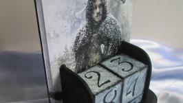 Вечный календарь ′Зима близко′-2, полезный подарок мужу, шефу, другу