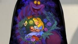 Backpack ′Alice in Wonderland′